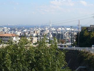 白鶴美術館からの景色