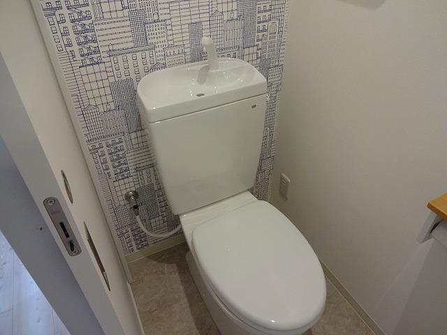 灘ハイツ301号トイレ